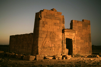 Sudan: Lion Temple at Naga. 2006