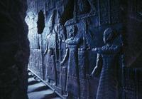 Temple of Dendera. Path of the Priests
