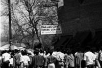 College students on Voting Rights march