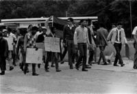 College students on Civil Rights march
